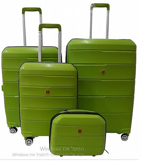 מגניב סט מזוודות SWISS דגם PREMUME | מזוודות קשיחות | מזוודות | swissbag ZY-56